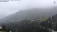 Damüls: Blick vom Hotel Alpenblume auf die Kirche