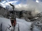 Blick auf die Mont-Blanc-Gruppe