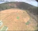 Blick auf die Piste im Skigebiet Biedenkopf