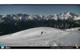 Blick auf die Pisten Panorama und Paradisico vom Monte Agaro aus