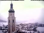 Blick auf Kastelruther Kirchturm