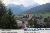 Blick auf Welsberg (Gsieser Tal, Südtirol)