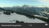 Blick auf die Patscherkofel Bergstation