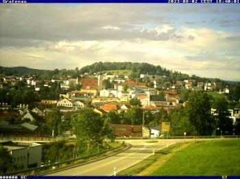 Grafenau: Blick über die Stadt