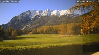 Blick vom Alpengasthof Obsteig, Tiroler Oberland