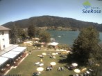 Ossiacher See: Blick vom Hotel Seerose