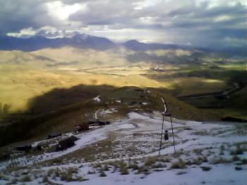 Bergstation in Fox Peak Richtung Südosten