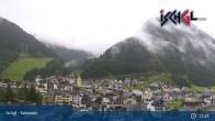 Blick von Ischgl auf die umliegende Bergwelt