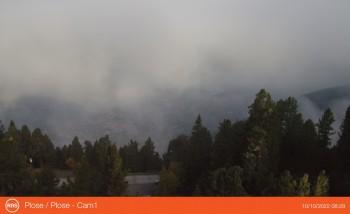 Blick vom Plose auf Brixen