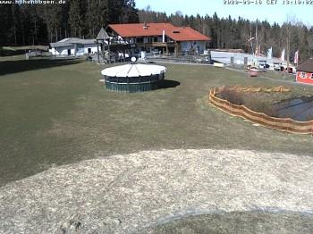 Brünnlhang-slope at ski resort Hohenbogen