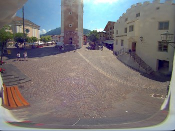 Castelrotto/Kastelruth village square