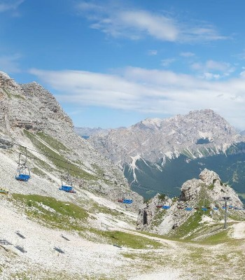 Cortina d'Ampezzo - Bergstation Pomedes
