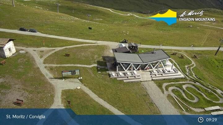 St. Moritz Corviglia: Video-Webcam