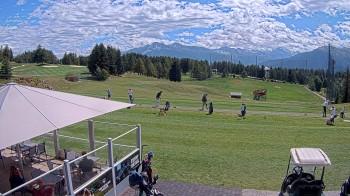 Crans Montana - Golfplatz