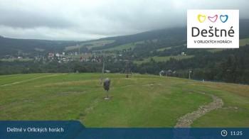 Skigebiet Deštné