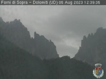 Dolomites of Forni di Sopra