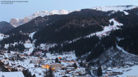 Blick vom Dorfhotel Beludei auf St. Ulrich