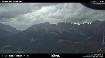 Buffaure - panorama view of Catinaccio
