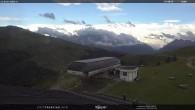 """Fassatal - Moena - Ankunft der Gondelbahn """"Valbona le Cune"""""""