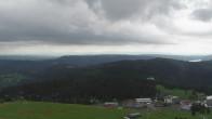 Feldbergturm mit Blick Richtung Alpen