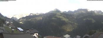 Fontanella Blick auf die Berge