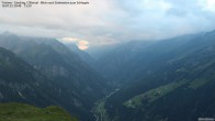 Gamshütte Zillertal Blick zum Tristner