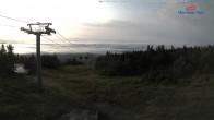Gipfelblick nach Süden - Mont Sainte Anne, Quebec