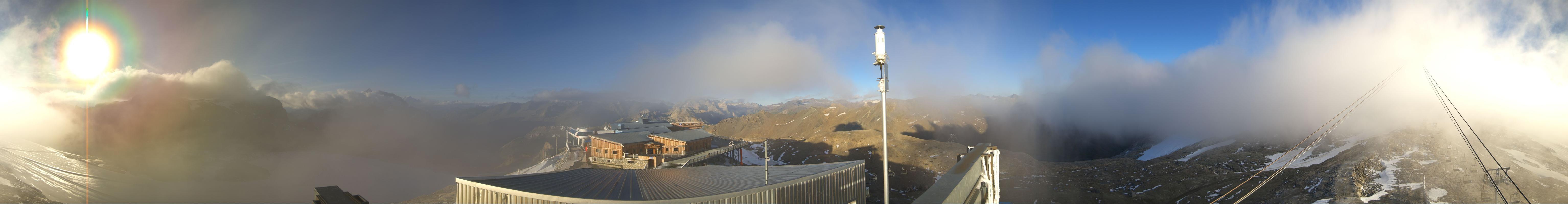 Webcam Tignes Grande Motte Glacier 3022 M Savoy Livecam Live Stream
