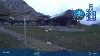 Grubig II Gondel im Skigebiet Lermoos Grubigstein