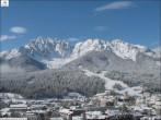 Berg Haunold und Ort Innichen