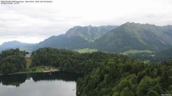 Oberstdorf: Ausblick von der Skiflugschanze