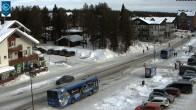 Zero Point in the ski resort Levi
