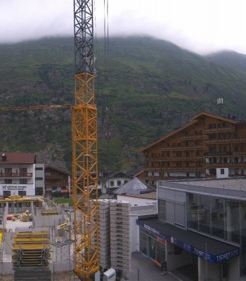 Hotel Edelweiss & Gurgl - view over Obergurgl