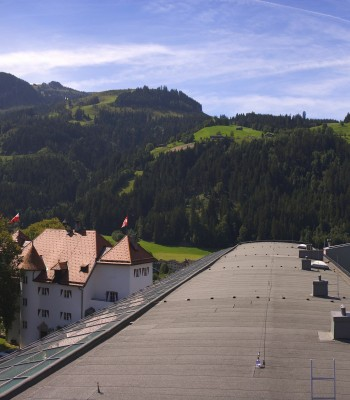 Hotel Schloss Lebenberg: Panoramic view of Kitzbühel