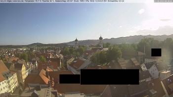 Isny: Wassertor und Nikolaikirche
