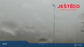 View from Stanice lanovky ČD, Liberec - Horní Hanychov