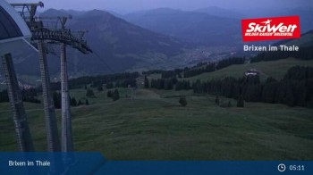 Jochbahn Bergstation Brixen im Thale