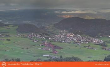 View Kastelruth from Marinzen
