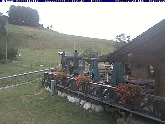 Webcam Kessel-Lifte in Inzell 744 m... • Oberbayern - Bayerische ...