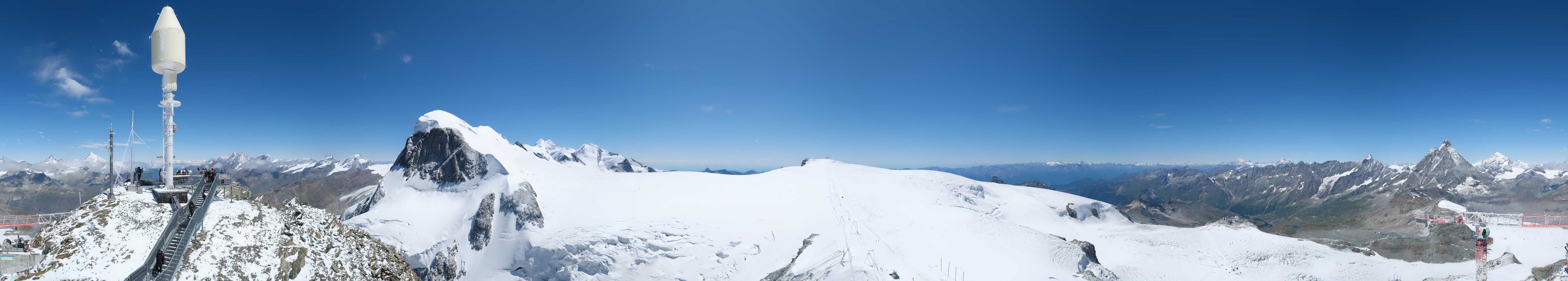 Zermatt Kleinmatterhorn - Gletscherskigebiet