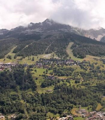 La Plagne Villages Panorama
