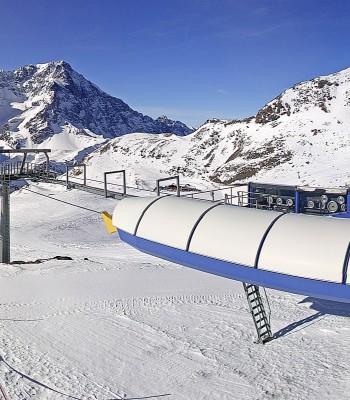 Skigebiet Sulden: Langenstein Kanzel
