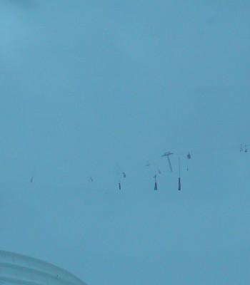 Les Deux Alpes Bergstation Sessellift Vallée Blanche