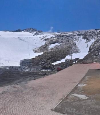 Les Deux Alpes (top station chairlift Glacier)