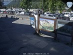 Les Grands Montets: Parking area