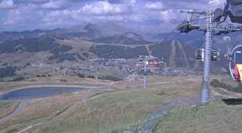 Les Saisies - Top station chairlift Bisanne