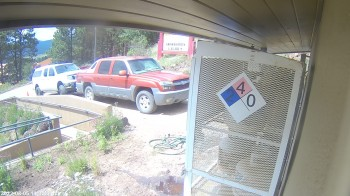 Live camera looking at the base area and Lift #2