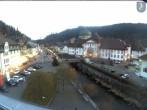 Main street of St Blasien Menzenschwand