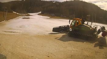 Mariazeller Bürgeralpe - Blick auf Piste Zuckerwiese