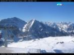 "Monterosa - Panorama vom ""Sarezza Pass"""